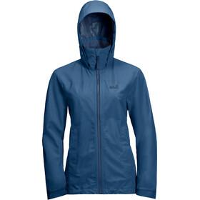 Jack Wolfskin Evandale Jacket Women indigo blue